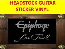 EPIPHON LES PAUL SILVER STICKER HEADSTOCK VISIT OUR STORE WITH MANY MORE MODELS
