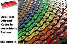 colored 520er OFF-ROAD MOTORCYCLE chain racing 520 MOTOCROSS ENDURO SUPERMOTO