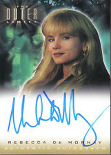 OUTER LIMITS SEX, CYBORGS & SCIENCE FICTION, AUTOGRAPH A12 REBECCA DE MORNAY