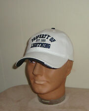 Tampa Bay Lightning Hockey Reebok NHL Unstructured White Baseball Hat One Size