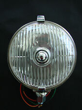 LUCAS 576 SFT DRIVING LIGHT (PAIR) WITH CLEAR 55 WATT HALOGEN BULBS 12V.