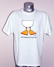 "Tennis T-Shirt ""Not Playing with a Full Duck"" 50% Cot/50% Poly - Men's  XL"