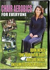 Chair Aerobics For Everyone DVD Nikki Glazer Exercise Fitness DVD Video