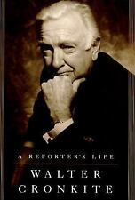 A Reporter's Life by Walter Cronkite (1996, Hardcover) 1st ed