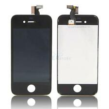 AT&T GSM Touch Digitizer &LCD Glass Screen w/Frame for Apple iPhone 4 Black US