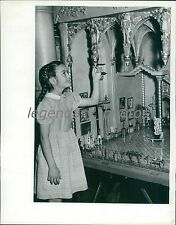 1945 Room in Colleen Moore's Fairy Castle Original News Service Photo