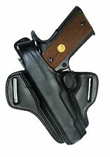 "Holster Ruger SR1911 5"" Barrel Black Leather Retention Tagua Left Hand BH1-201"
