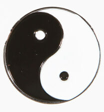 Ying Yang B&W Metal Golf Ball Marker - Package of 2