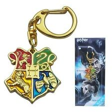 Hogwarts Wizarding World of Harry Potter Logo Metal Vouge Key Ring Keychain Q