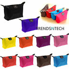 Waterproof Cosmetic Makeup Purse Wash Bag Organizer Pouch Pencil Case Handbag UK