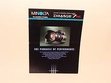 MINOLTA DIMAGE 7Hi SALES BROCHURE