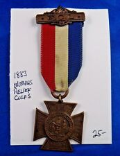 1910 Spanish American War Veterans 7th Annual Encampment Delegate Elyria Medal