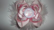 boutique ballet bow, bobble or barrette clip