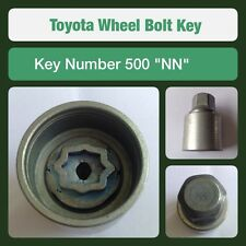 "Genuine Toyota Locking Wheel Bolt / Nut Key 500 ""NN"""