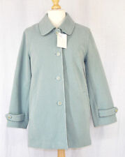 NEW EWM LADIES GREEN COAT SIZE 12 EDINBURGH WOOLLEN MILL OVERCOAT BNWT JACKET