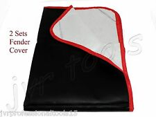 """(Qty 2) Heavy Duty Magnetic Fender Cover 24"""" x 35"""" Protector 4 Pc Corner Magnets"""