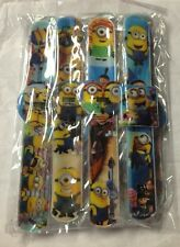 (200)Despicable ME 2 Minions Children Slap on Band Digital Watches Birthday Gift