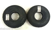 (2) 58-020 Oregon Go Kart Stud Tires 4.10x3.50x4 Compatible With Carlisle