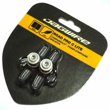 JAGWIRE Road Pro C Lite Brake Shoes Pads for Campagnolo Skeleton, Black, J66
