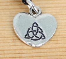 Irisch  - Anhänger Schmuck  - Zinn  - Keltische -  Herz - Celtic