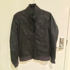 G-STAR RAW Slim Nylon Windbreaker Jacket Medium Pre-owned Black $220 PHARRELL