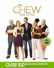 The Chew Food Life Fun Carla Hall 2012 Paperback book cookbook TV ABC talk show