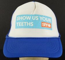 Show Us Your Teeth Spy Sunglasses Blue Baseball Hat Cap Adjustable Snapback