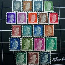 German WW2 Nazi Adolf Hitler stamps(#20)-MNH,1941-1944,3rd Reich Germany postage