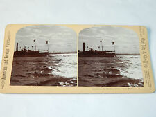 AMERICAN and FOREIGN views GRIFFITH new york hudson STEREOSCOPIC photo ANCIEN