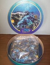 New Christian Riese Lassen Mother's Love Ocean Dolphin 750 Pcs Puzzle by Ceaco