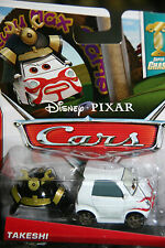 "DISNEY PIXAR CARS 2 ""TAKESHI"" SUPER CHASE, NIP, LIMITED TO 4000 UNITS PRODUCED"
