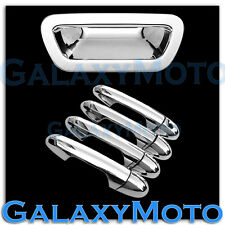 03-08 CHRYSLER PACIFICA Triple Chrome Plated ABS 4 Door handle+Tailgate cover
