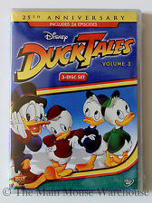 Ducktales Disney Channel Classic Cartoon Scrooge Huey Dewey & Louie Volume 3 DVD