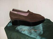 Chaussures compensées ROBERT CLERGERIE daim marron 41/42