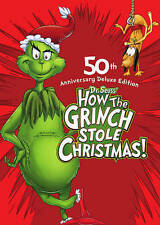 How the Grinch Stole Christmas (DVD, 2009, PS Deluxe Edition) NEW