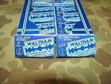 Razor Blades / Rasierklingen - WALTHAM - US Army WK2 WWII ETO