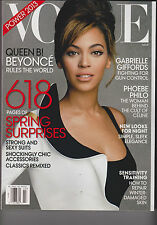 VOGUE MAGAZINE MARCH 2013 THE FASHION & POWER ISSUE BEYONCE NEWS STAND.