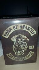 Sons of Anarchy: The Complete Series (DVD, 2015, 30-Disc Set) FREE SHIPPING