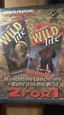 Its A Wild Life 2 for 1: Munchtime Lunchtime + Bath'n in the Wild (DVD, 2004)NEW