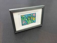 "James RIZZI: Original Farblithographie ""GIVE ME LIBERTY"", 3D Vorlage, gerahmt"