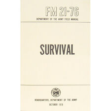 "New U.S. Army Field Manual ""SURVIVAL"" FM 21-76 October 1970 Pages 285"