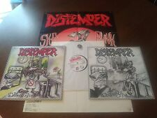 Distemper Дистемпер - ДОБРОЕ УТРО LP 2002 w/ poster + pin / Russian Ska Punk