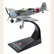 Focke-Wulf Fw 190A-8 1945 WWII German Fighter Aircraft Diecast Model 1/72 No 42