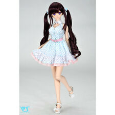NEW Volks Super Dollfie Limited Outfit / Blue Check Dress Set