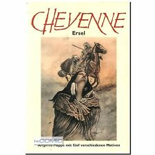 CHEYENNE limitiert  Artprint Mappe 5 Motive NR. 079 / 200 Erwin Sels Ersel COMIC
