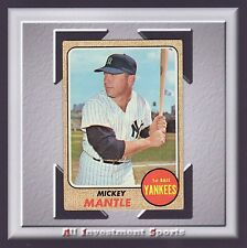 1968 Topps MICKEY MANTLE #280 GOOD **amazing baseball card for your set** M88C