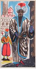 EDWARD BAWDEN mounted original lithograph, Vathek, Arabian Nights 1958 EB02