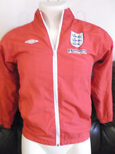 England Red Weatherproof Training Jacket. Size 152cm