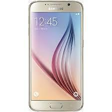 Brand New Samsung Galaxy S6 4G 32GB, Gold with Free Bluetooth Stereo Earphone