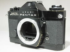 """Excellent"" Pentax Asahi ES Electro Spotmatic black from Japan"